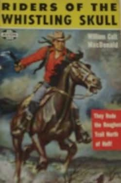 book cover of Riders of the Whistling Skull
