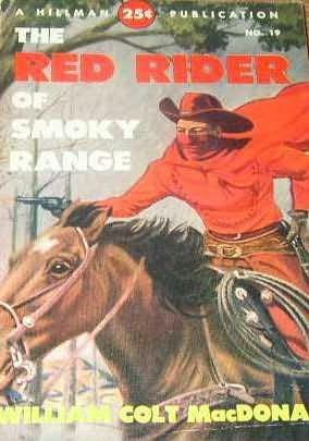 book cover of The Red Rider of Smoky Range