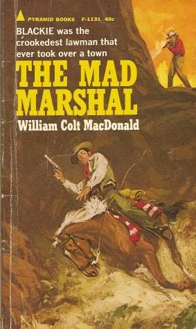 book cover of The Mad Marshal
