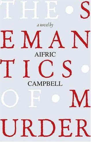 book cover of The Semantics of Murder