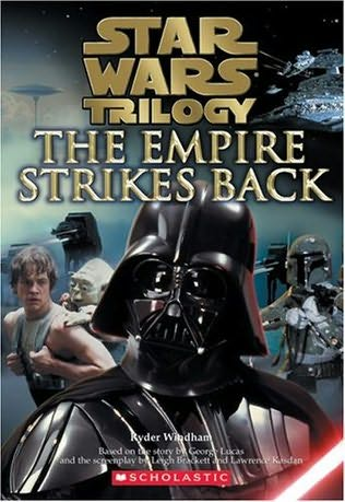 book cover of The Empire Strikes Back Junior Novelization
