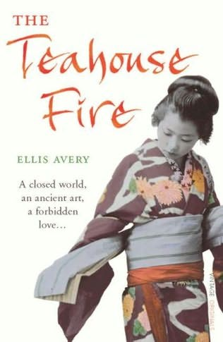 book cover of The Teahouse Fire