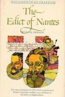 book cover of The Edict of Nantes