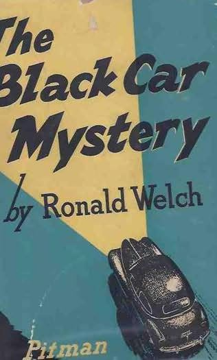 book cover of The Black Car Mystery