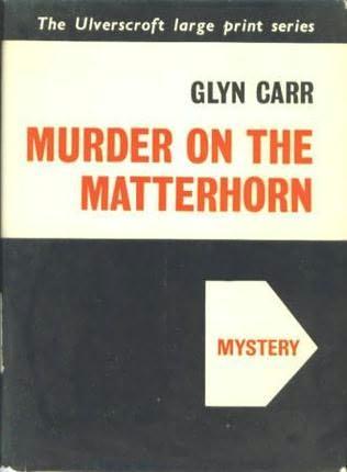 book cover of Murder on the Matterhorn