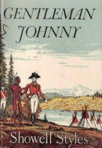 book cover of Gentleman Johnny