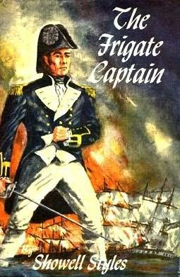 book cover of The Frigate Captain