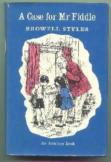 book cover of Mr Fiddle