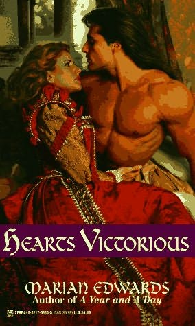 book cover of Hearts Victorious