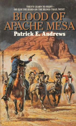 book cover of Blood of Apache Mesa