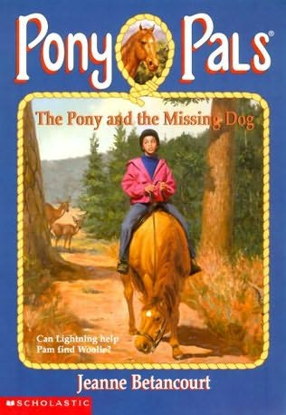 book cover of The Pony and the Missing Dog
