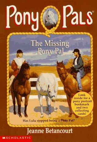 book cover of The Missing Pony Pal