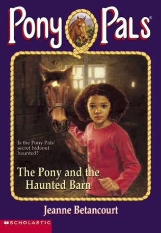 book cover of The Pony and the Haunted Barn