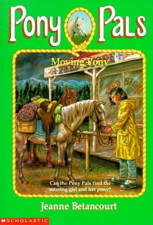 book cover of Moving Pony