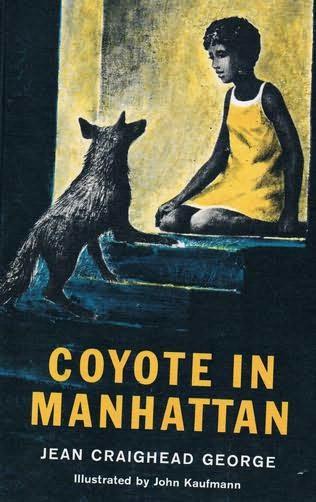 book cover of Coyote in Manhattan