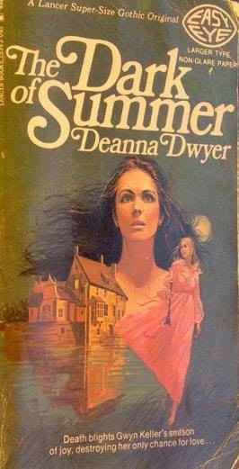 book cover of The Dark Of Summer