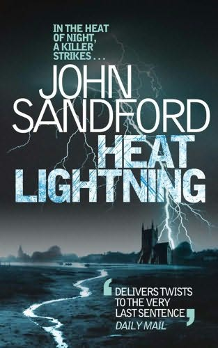 book cover of Heat Lightning (Virgil Flowers, book 2) by John Sandford