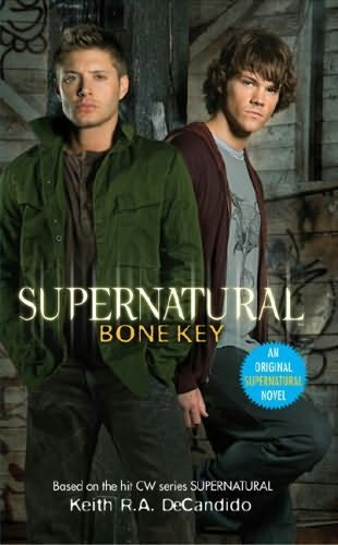 book cover of Bone Key