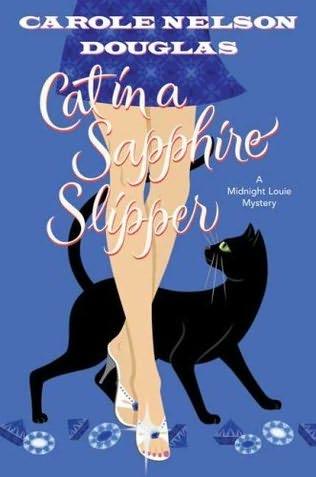 book cover of Cat in a Sapphire Slipper