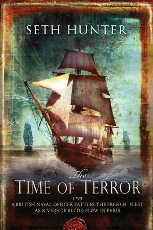 book cover of  The Time of Terror   (Nathan Peake, book 1) by Seth Hunter