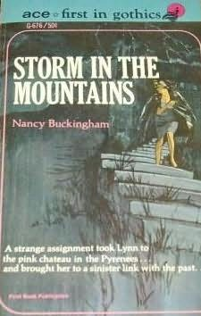 book cover of Storm in the Mountains