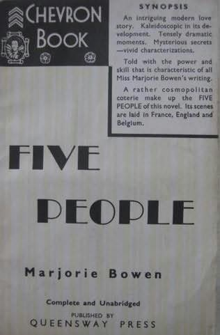 book cover of Five People