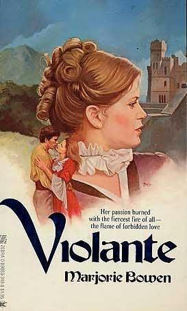 book cover of Violante