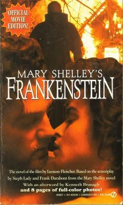 book cover of Mary Shelley\'s Frankenstein