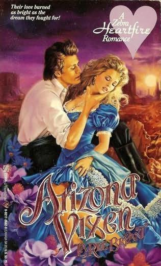 book cover of Arizona Vixen