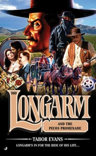book cover of Longarm and the Pecos Promenade