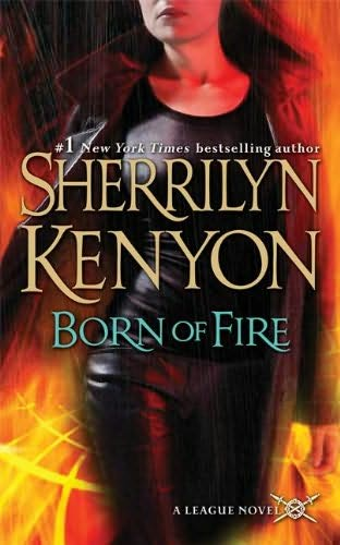 book cover of   Born of Fire    (League, book 2)  by  Sherrilyn Kenyon