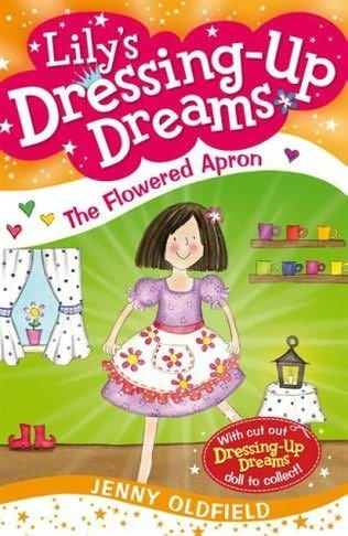 book cover of The Flowered Apron
