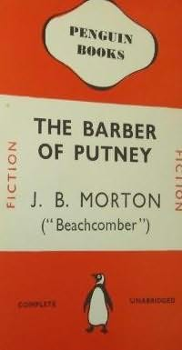 book cover of The Barber of Putney