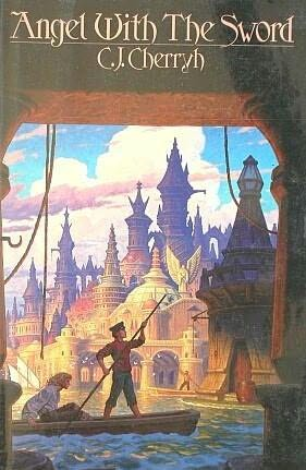 book cover of Angel with the Sword