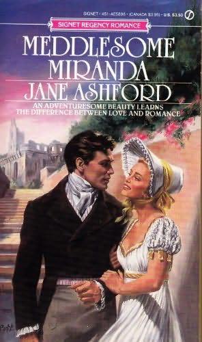 book cover of Meddlesome Miranda