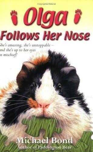 book cover of Olga Follows Her Nose