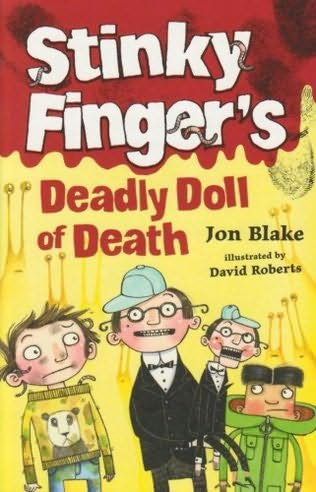 book cover of Stinky Finger\'s Deadly Doll of Death
