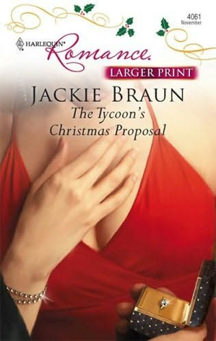 book cover of The Tycoon\'s Christmas Proposal