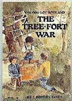 book cover of The Odd-Lot Boys and the Tree-Fort War