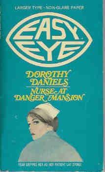 book cover of Nurse At Danger Mansion