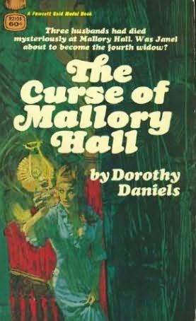book cover of The Curse Of Mallory Hall