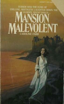 book cover of Mansion Malevolent
