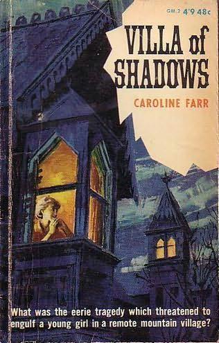 book cover of Villa of Shadows