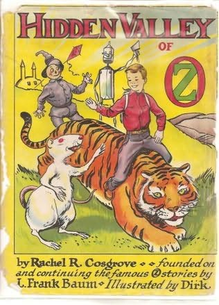 book cover of The Hidden Valley of Oz