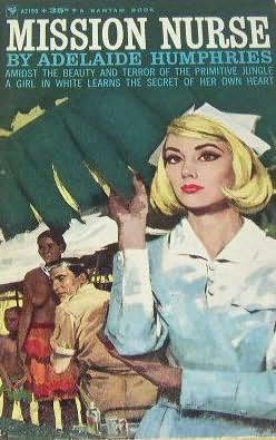 book cover of Mission Nurse