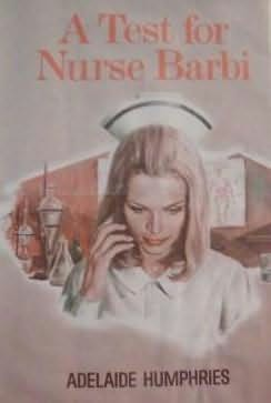 book cover of A Test For Nurse Barbi