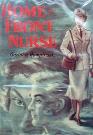 book cover of Home Front Nurse