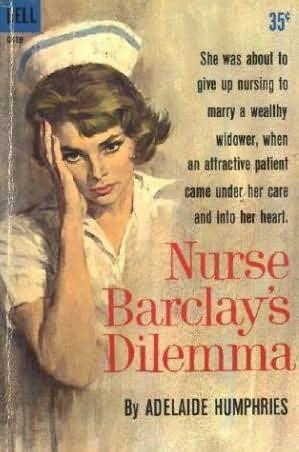 book cover of Nurse Barclay\'s Dilemma