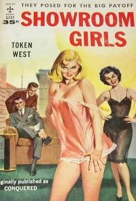 book cover of Showroom Girls