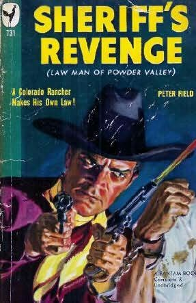 book cover of Law Man of Powder Valley